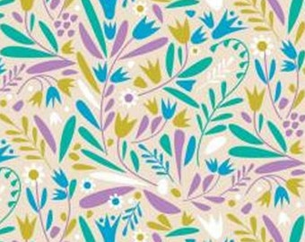 Meadow, 18180102, col 02, Springs Birds, Camelot Fabrics, 100% Cotton