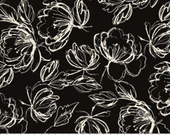 Etched Floral, 71190405, col 02, Oxford, Laura Ashley, 100% Cotton