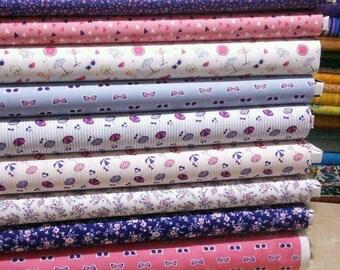 Bundle, 9 prints, Summer Days, Camelot Fabrics, Cotton, quilt cotton