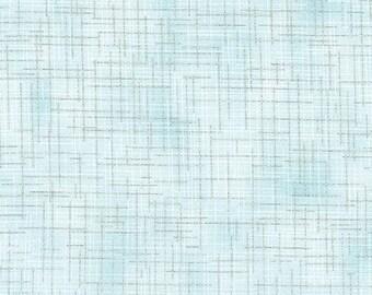 Gray-blue, metallic silver, quilter's linen, 14476, col 88, Robert Kaufman, 100% Cotton