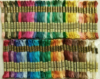 DMC, 3779-3864, Embroidery, thread, DMC, Mouliné 25, art 117 No. 25, 8 meters each skein, cotton