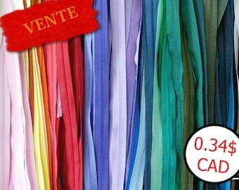 50%, 25 Zippers, KKF, Q, C, S, others, not detachable, varied color, varied size, 10 cm - 65 cm, SURPRISE, K25