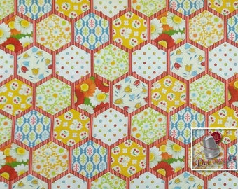 Style quilt, style vintage, The little Red Hen, Henry Glass & Co, pattern #9857, 100% Cotton, (Reg 2.39-17.29)