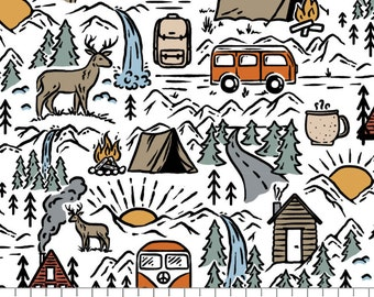 Adventurers, 66190401, col 01, Camelot Fabrics, 100% Cotton, quilt cotton, designer cotton