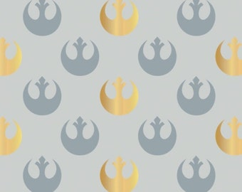 Star Wars, Watercolor, Rebel Logo, 73010505, col 04, Camelot Fabrics, cotton, cotton quilt, cotton designer