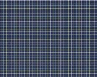 Grid, dark blue, 4142305, col 02, Dog gone it, Camelot Fabrics, multiple quantity cut in one piece, 100% Cotton, (Reg 2.99-17.99)