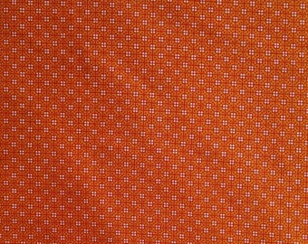 Orange, Shop hop, By Bonnie Krebs, Art Impressions, Henry Glass, #8667, multiple quantity cut in one piece, 100% Cotton, (Reg 3.99 - 17.99)