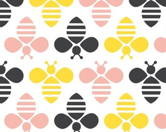 Bee, 41170201, col 01, Bee Youtiful,Camelot Fabrics, 100% Cotton, (Reg 2.99-17.99)