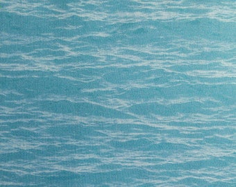 Cloud effect, or wave, sky blue, 8731, Fish & Fowl, Riley Blake, cotton, cotton quilt, cotton designer