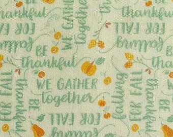 Ode to Fall, orange, turquoise, white, 66180206, col 01, Autumn Impressions, Camelot Fabrics, cotton, cotton quilt, cotton designer