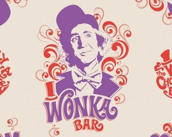 Willy Wonka, 23230101, col 02, Camelot Fabrics, cotton, cotton quilt, cotton designer