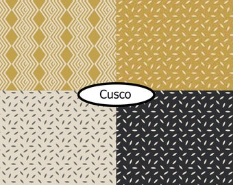 4 prints, Cusco, Camelot Fabrics, 100% cotton