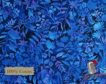 END OF BOLT, Flower Bluet, Aflutter, Elizabeth Isles, Studio e, 3912, 100% Cotton