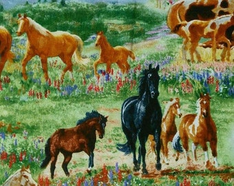 Horse, 8702, Elizabeth's Studio, cotton, cotton quilt, cotton designer