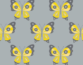 Butterfly, Flutter & Buzz, 6141805-02, Camelot Fabrics, multiple quantity cut in one piece, 100% Cotton
