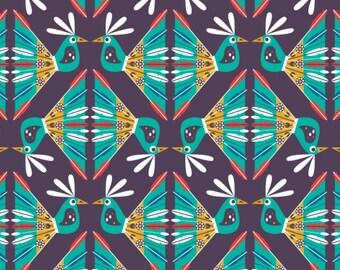 Birds, Birds of Paradise, 28170103, col 01, Camelot Fabrics, 100% Cotton, quilt cotton
