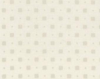 White, square gold white, Pearl Essence, 100% coton