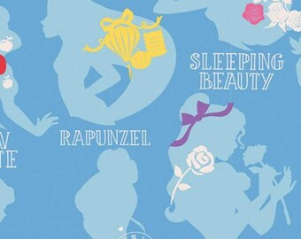 Disney Forever, Princess, 85100115, col 02, Camelot Fabrics, cotton, cotton quilt, cotton designer