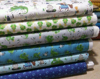 Bundle, 6 designs, Once Upon A Time, Camelot Fabrics, 1 of each design