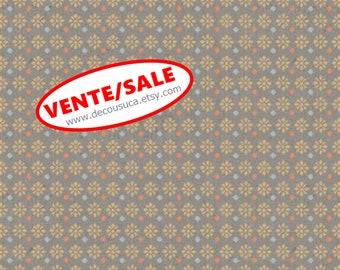 SALE, Flower, taup, 66190104, col 02, Free Spirit, Camelot Fabrics, 100% Cotton, (Reg 3.76-21.91)