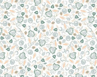 Flower, 21180304, col 01, Beachside Pretty, Oceanic Garden, Camelot Fabrics, cotton, cotton quilt, cotton designer