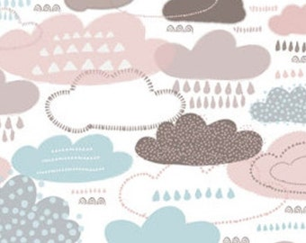 Clouds, Watson in the woods, 31180102, Camelot Fabrics, 100% Cotton, (Reg 2.99-17.99)