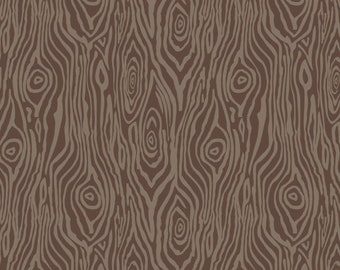 Woods, brown, Watson in the woods, 31180106, col 01, Camelot Fabrics, 100% Cotton, (Reg 2.99-17.99)
