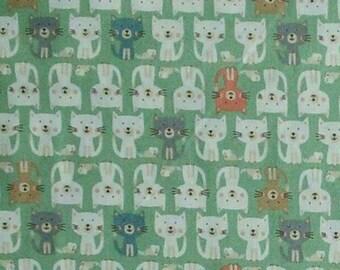 Cats, Cool Cats, Makower, 2185, Camelot Fabrics, cotton, cotton quilt, cotton designer