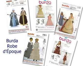 70%, 3 models, Burda, Costume, women 8-32 , new, uncut,