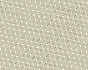 Fabric, Cotton, Beige, white, Winter Rose, 9424, Andover
