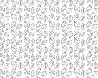 Leaf, Flutter & Buzz, 6141806-03, Camelot Fabrics, multiple quantity cut in one piece, 100% Cotton, (Reg 2.99 - 17.99)