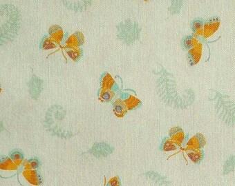 Butterfly, orange, 66180204, col 01, Autumn Impressions, Camelot Fabrics, cotton, cotton quilt, cotton designer