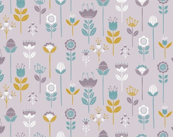 Joséphine, flowers, 2143801, col 02, Camelot Fabrics, multiple quantity cut in one piece, 100% Cotton