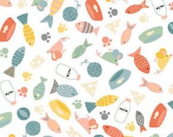 Cool Cats, Makower, 2184, Camelot Fabrics, cotton, cotton quilt, cotton designer