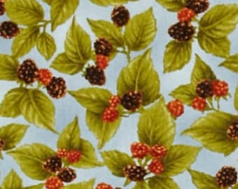 Harvest Botanicals, Henry Glass & Co Pattern #9789, FQ, half-yard, by the yard, 100% Cotton