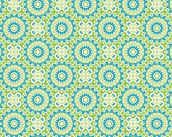 Marrekech, turquoise, Boho Happy, Patrick Lose, 100% Cotton