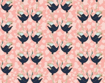 Birds, 29180202, col 03, Mistic Cranes, Camelot Fabric, quilt cotton