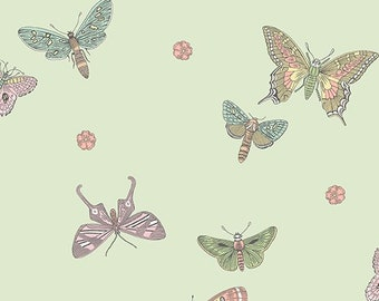 Butterfly, 9260, EG,  Andovers, 100% Cotton, quilt cotton, designer cotton