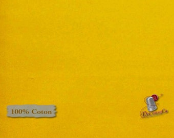 YELLOW GOLD, 100% cotton, quilt cotton, Camelot Fabrics, multiple quantity cut in one piece,