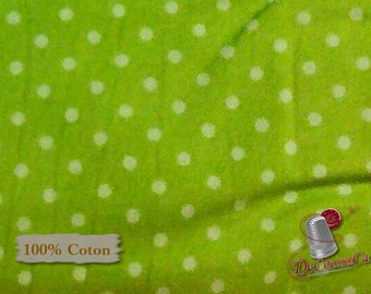 Lime peas, green background, Henry Glass, multiple quantity cut in one piece, 100% Cotton