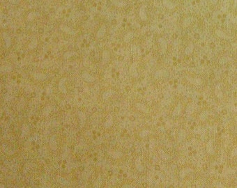 Beige, Apple Cider, P & B Textiles, multiple quantity cut in one piece, 100% Cotton