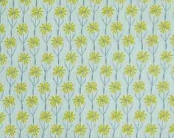 Mini-Flowers, Yellow, Meadow Wildlife, 30190403, col 03, Camelot Fabrics, cotton quilt, cotton designer