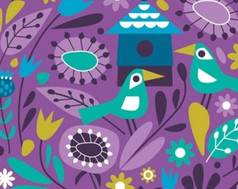 Birds, 18180101, col 03, Springs Birds, Camelot Fabrics, 100% Cotton, (Reg 2.99-17.99)