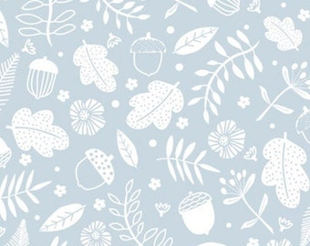 Forest, blue, Watson in the woods, 31180105, col 02, Camelot Fabrics, 100% Cotton, (Reg 2.99-17.99)