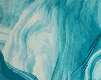 Turquoise, aqua, white, Benartex, 6700, cotton, cotton quilt, cotton designer