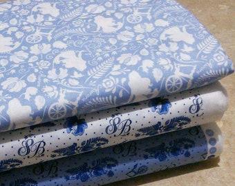 Bundle 3 prints, Sleeping Beauty of Camelot Fabrics