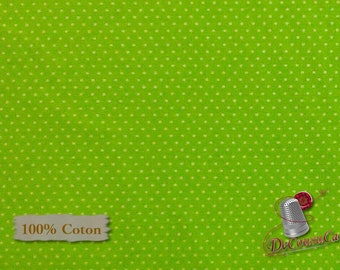 Green, lime, COTTON, 100% Cotton