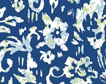 Peasley, dark blue, 71180303, col 01, By The Sea, Laura Ashley, Camelot Fabrics, 100% Cotton, (Reg 2.99-17.99)