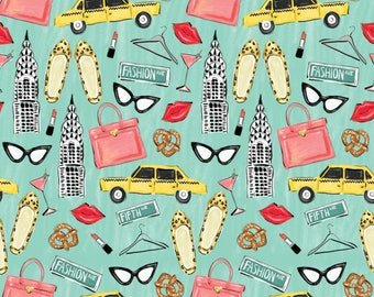 City Girl, 26180101J, col 01, Camelot Fabrics, 100% Cotton