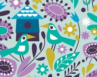 Birds, 18180101, col 02, Springs Birds, Camelot Fabrics, 100% Cotton, (Reg 2.99-17.99)